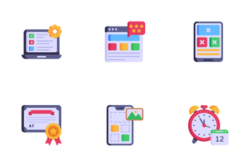 Web And Software Development Services Icon Pack