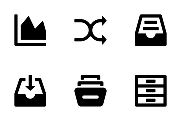 Web And UI Icons 13 Icon Pack