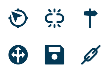 Web And UI Icons 24 Icon Pack