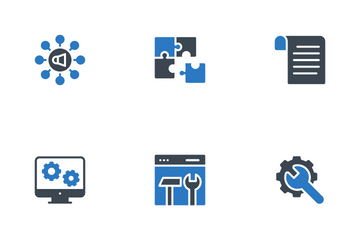 Web App And Digital Marketing Icon Pack
