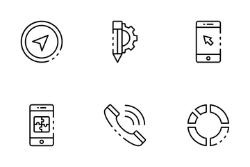 Web & Application Programming Icon Pack