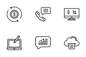 Web & Content Marketing Icon Pack