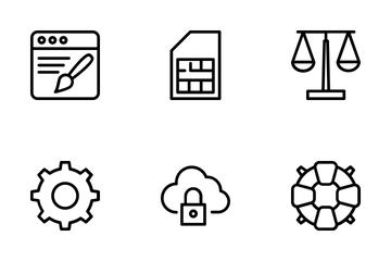 Web Design 2 Icon Pack