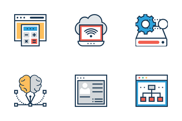 Web Design And Development 1 Icon Pack