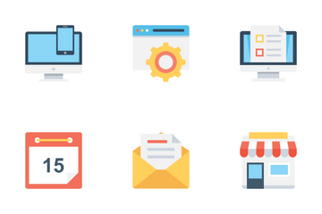 Web Design And Development 2 Icon Pack