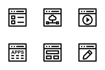 Web Design And Development 2 Icon Pack