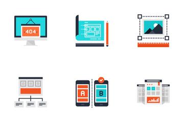 Web Design And Development Icon Pack