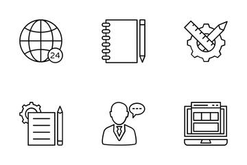 Web Design And Development Vol 1 Icon Pack