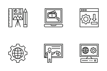 Web Design And Development Vol 4 Icon Pack