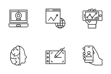 Web Design And Development Vol 5 Icon Pack