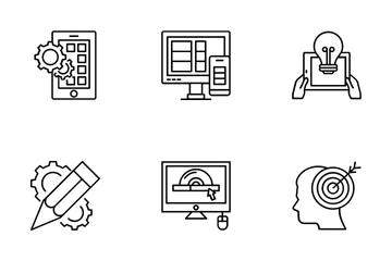 Web Design And Development Vol 6 Icon Pack