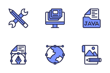 Web Design & Development Icon Pack
