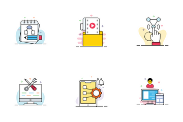 Web Design & Development Icon Pack