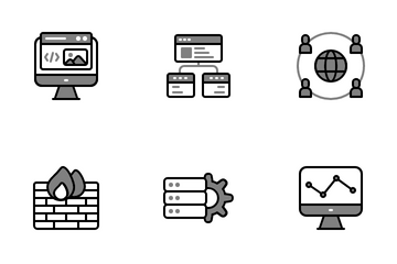 Web Design Development Icon Pack