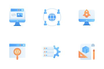 Web Design Development Icon Pack