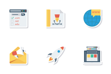 Web Design Development And UI Icon Pack