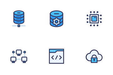 Web Design Development Filled Outline Icon Pack