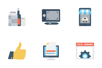 Web Design Programming Icon Pack