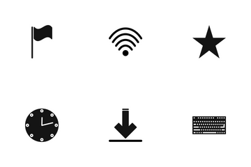 Web Glyph  Icon Pack