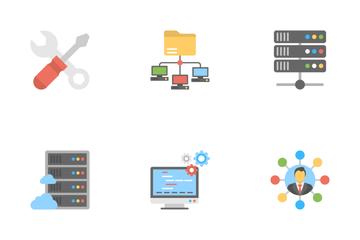 Web Hosting 1 Icon Pack
