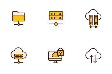 Web Hosting Icon Pack