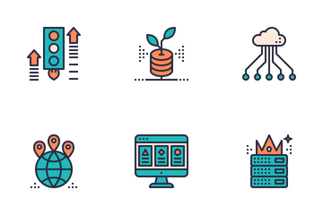 Web Hosting  Icon Pack