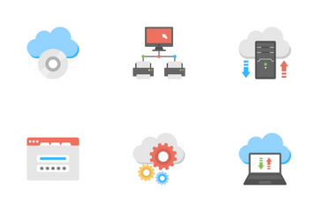 Web Hosting 3 Icon Pack