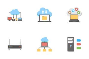 Web Hosting 4 Icon Pack
