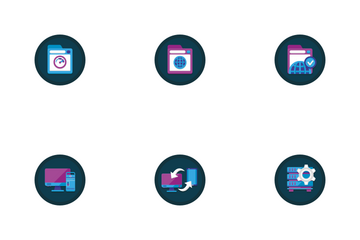 Web Hosting Vol - 1 Icon Pack