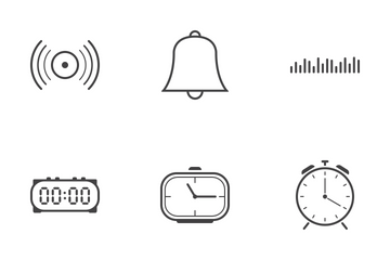 Web Icon Black Outline 5 Icon Pack