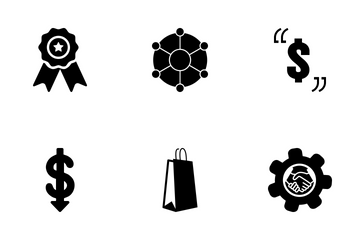 Web Icon Black Solid 1 Icon Pack