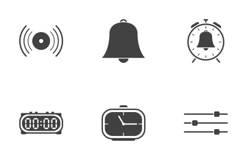 Web Icon Black Solid 5 Icon Pack