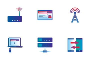 Web & Internet Icon Pack
