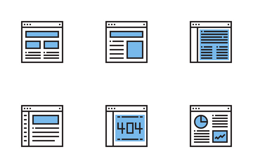 Web Layout Icon Pack