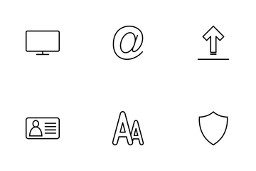 Web  Line Icon Pack