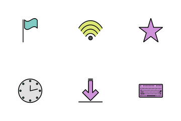 Web Line Filled Icon Pack