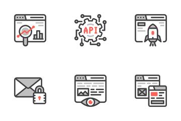 Web Maintenance Icon Pack