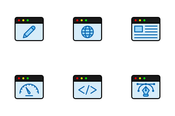 Web Pages Icon Pack
