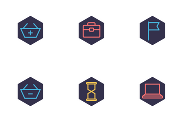 WEB, SEO And Marketing  Icon Pack
