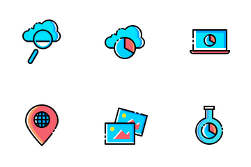 Web, SEO & Development Vol 1 Icon Pack