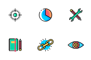 Web, SEO & Development Vol 3 Icon Pack