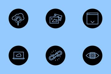 Web, SEO & Development Vol 3 Icon Pack