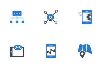 Web SEO & Digital Marketing Icon Pack