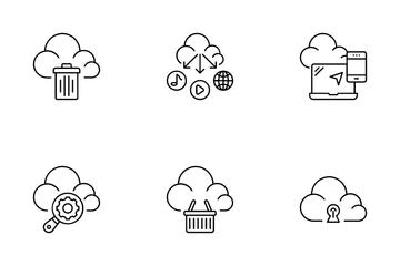 Web Server Hosting Icon Pack