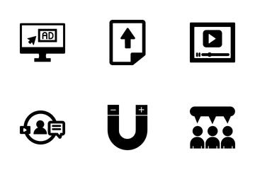 Web Technology & Digital Icon Pack