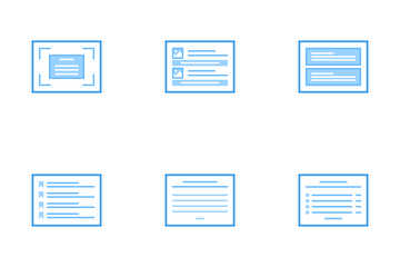 Web Wireframes Icon Pack