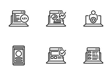Webdesign And Development Icon Pack