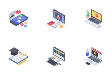 Webinar And Podcasting Icon Pack