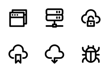 Website And Cloud Icon Pack