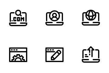 Website Development Icon Pack
